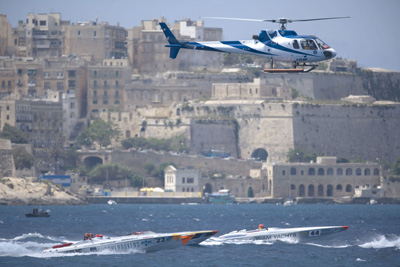 Selection taken from the P � 1 Powerboat Championships throughout Europe and North Africa
